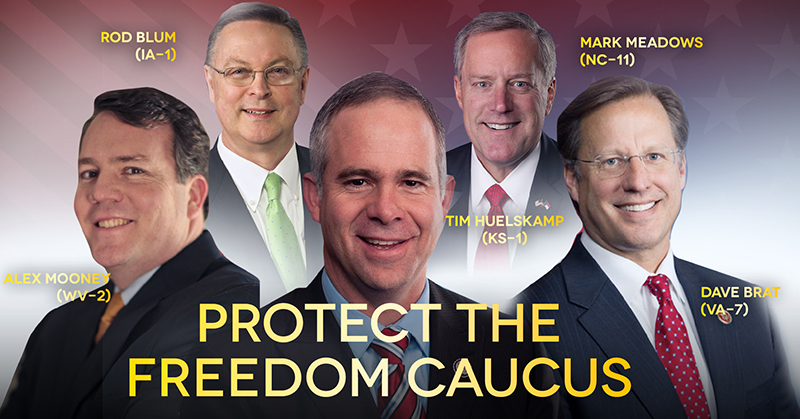 Image result for freedom caucus members