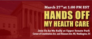 Hands Off My Healthcare Rally