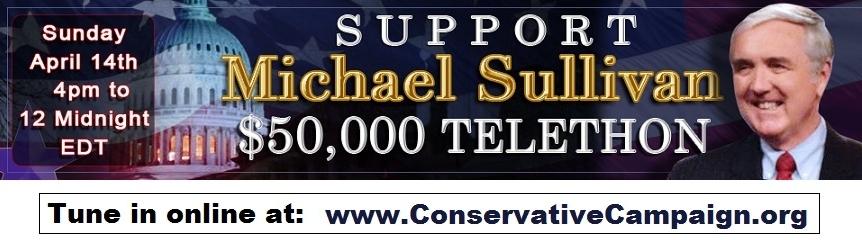 Mike Sullivan telethon banner